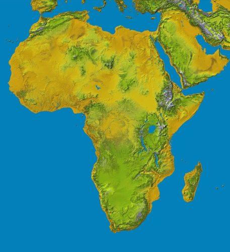 Immagini Cartina Fisica Africa.Cartina Dell Africa Fisica E Politica Dove Trovarla Con E Senza Spiegazione Subito News