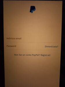 Ricarica PayPal